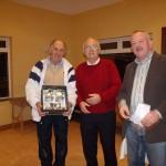 Permanent TSB Tennis Classic - January 2011- Martin Farrell(Winner), Tony Teehan (Sponsor), Peter McDermott(President)