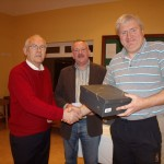 Permanent TSB Tennis Classic - January 2011- Tony Teehan (Sponsor), Peter McDermott(President), James Nolan (Winner)