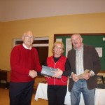 Permanent TSB Tennis Classic - January 2011- Tony Teehan (Sponsor), Mary McCrann(Runner Up), Peter McDermott(President)