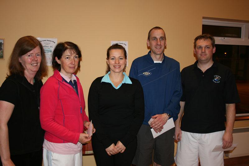 Winter Firms 2011 Section 2 Runners Up (Full team from Rathangan): Ronnie Heffernan, Aine Doyle, Tetyana Shumska (sponsor), Kieran Maguire, Richie Ryan