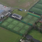Athy Tennis club - Bird's eye