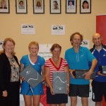 ATC Interfirms 2012 - B section winners, Carlow - Mary Lyons, Marese Grogan, Ray James,