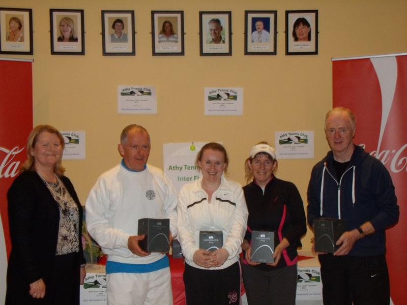 ATC Interfirms 2012 - A section runners-up, - Shane Spring, Laura Gibson, Mary Cavanagh, PJ Grogan