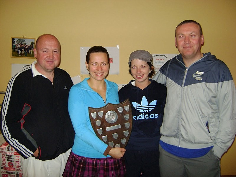 Inter-Firms 2010 winners, group C. John Costigan, Tetyana Shumska, Emma Brien, Tom Lane
