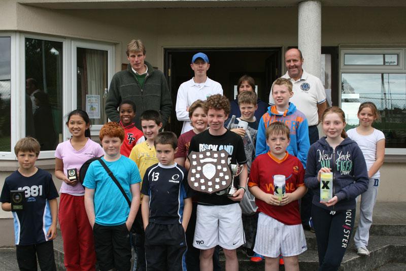 Athy Junior Tennis Championship 2012 Under 12 y.o. participants - September 15th 2012