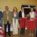 Inter-Firms 2010 winners, group B. Eddie Brien, Peter McDermott (President), Miriam Rowan (committee), Joan McDonald Hyland, Deirdre O'Connor, Ken Braithwaite