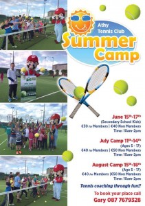 ATC Junior Camps 2016