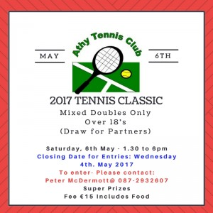 Saturday 6th May 2017 Members and Non Members Welcome