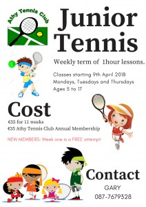 JuniorTennis for FB