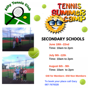 Summer Camp Secondary 2018