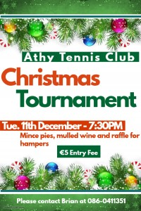 Christmas Tournament 2018