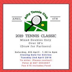 TENNIS CLASSIC 2019