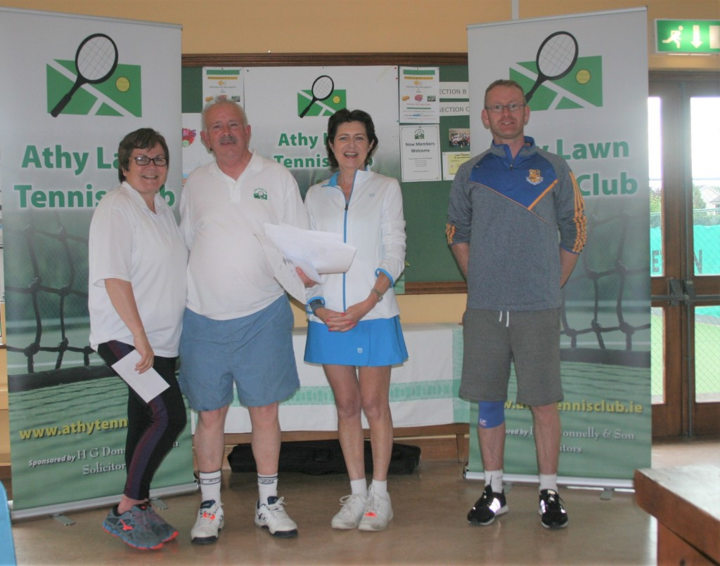 Catherine Owens, Peter McDermott, Deirdre O' Connor & Adrian Delaney