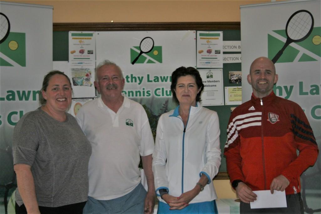 Claire Kealey, Peter McDermott, Deirdre O' Connoe & Brian Cardiff - Winners