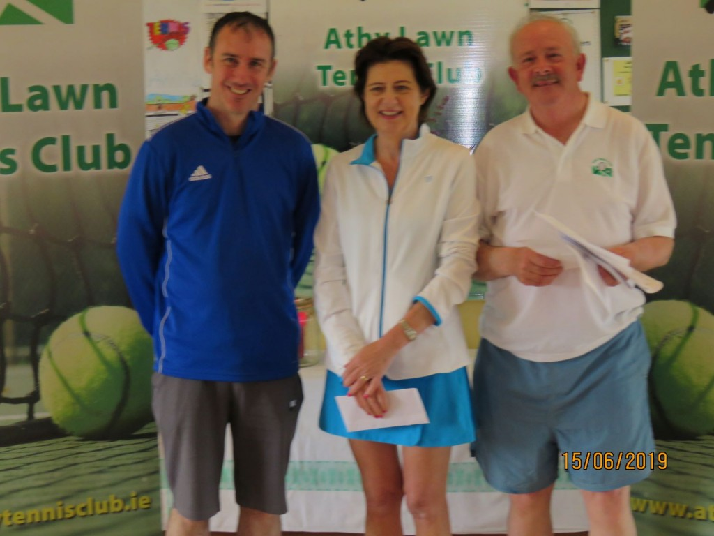 David O' Rourke, Deirdre O' Connor & Peter McDermott - Winners
