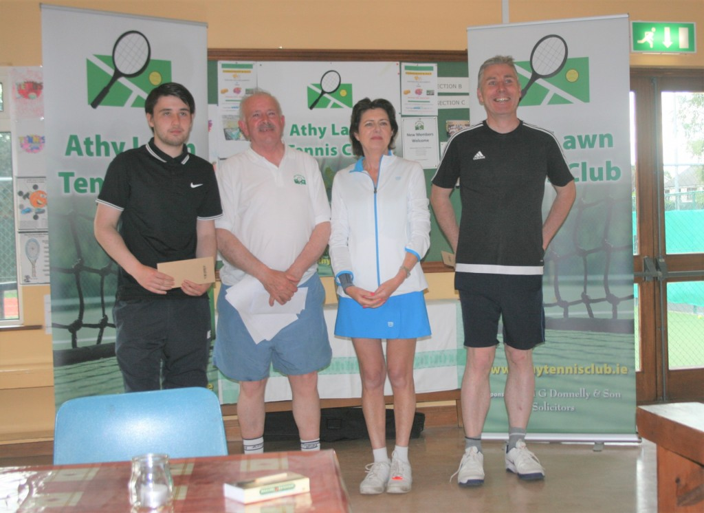 Kristian Redmond Peter McDermot Deirdre O'Connor Mick Dowd - Winners
