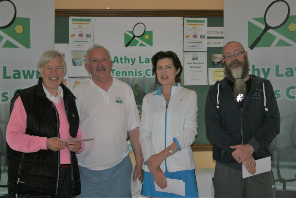 Judy Chambers, Peter McDermott, Deirdre O' Connor & Brian Delaney