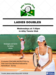 Ladies Doubles Add Sharing
