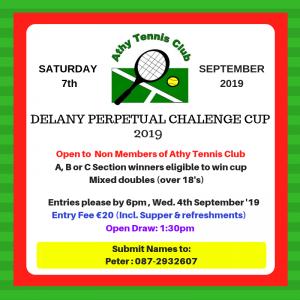 Delaney Cup 2019
