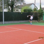 Colin playing on court