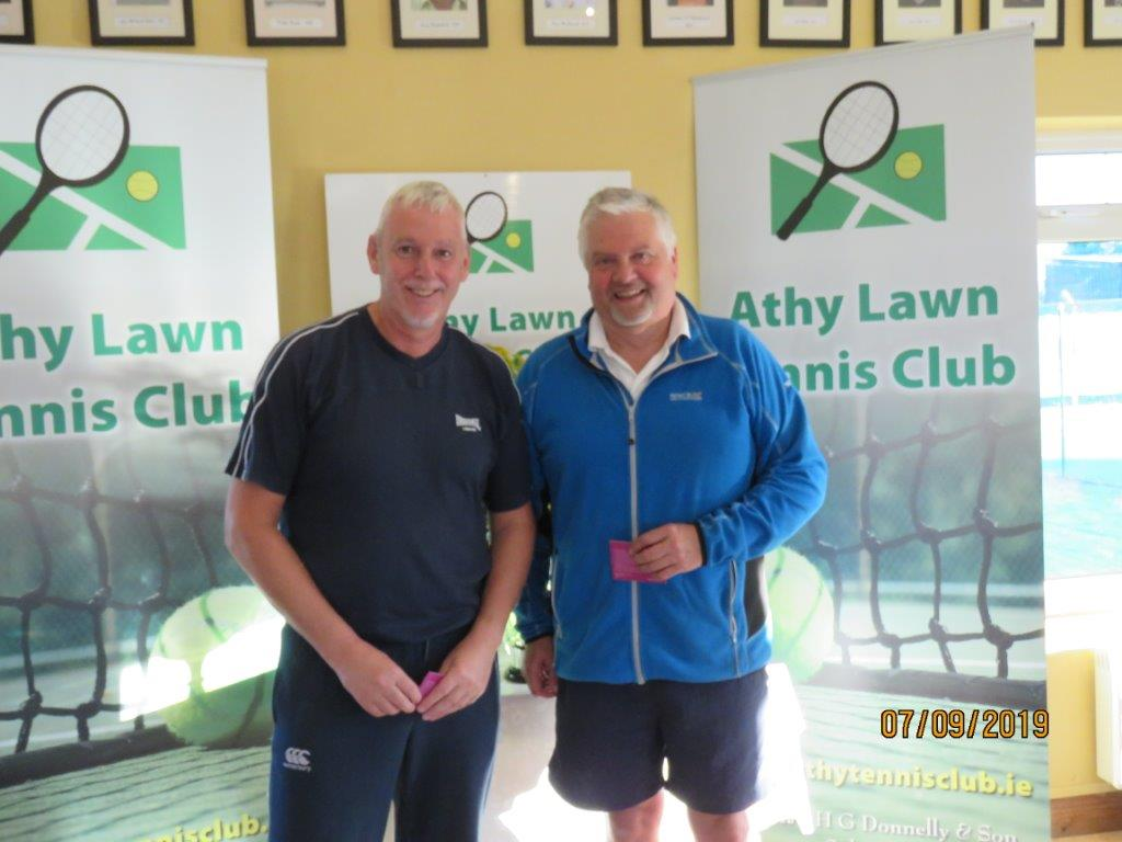 Group 1 Runner Up-John Goff & Colin Braithwaite