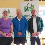 Group 2 Winners- Maura O' Loughlin, Colin Braithwaite club president & Brian Delaney