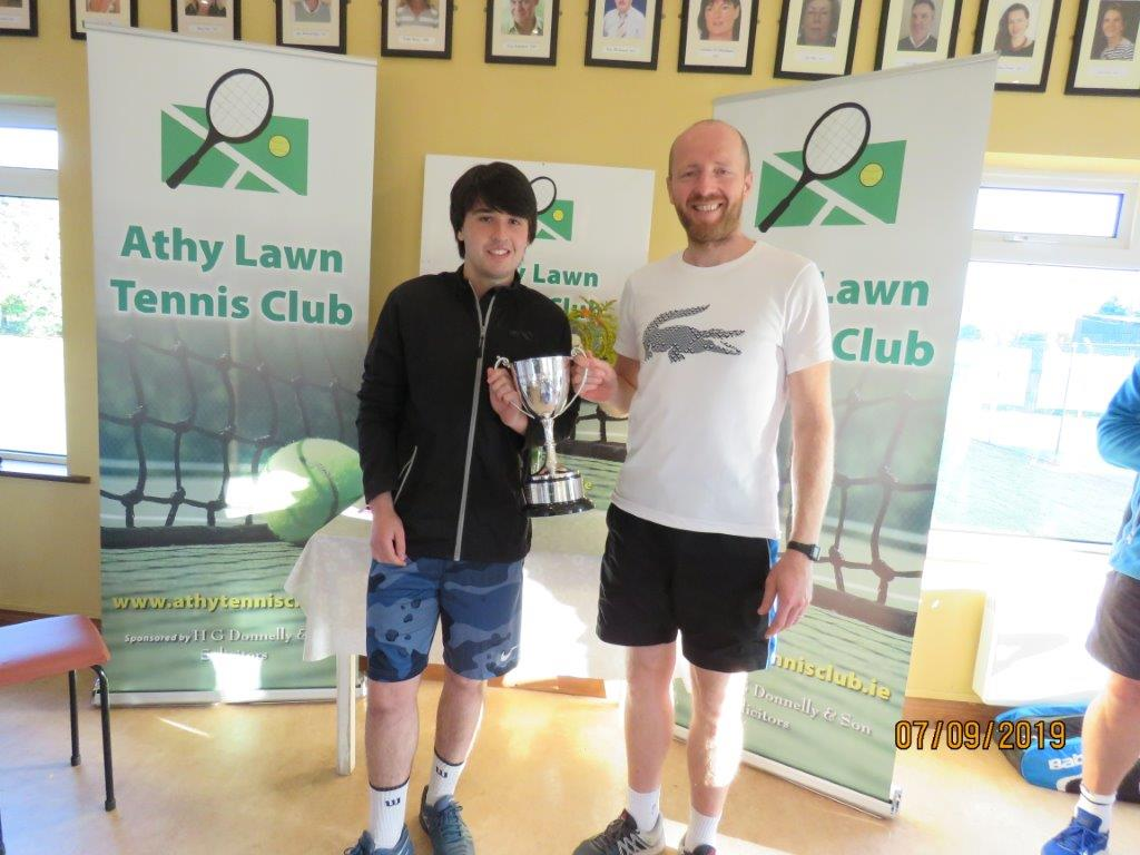 Kristian Redmond & Sergiy Ksenych winners of the Delaney Cup
