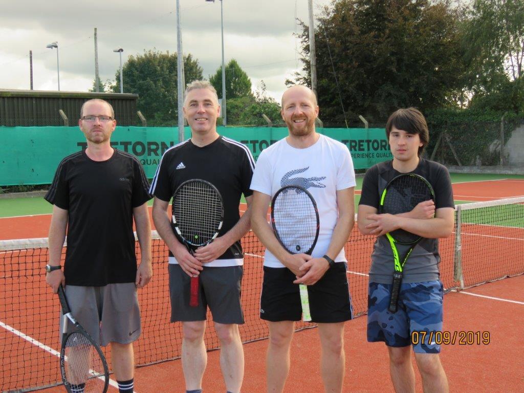 Mark Delaney, Mick Dowd, Sergiy Ksenych& Kristian Redmond