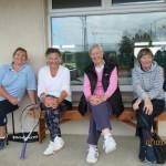 Olga Braithwaite, Marian Greene, Judy Chambers & Ronnie Shorten