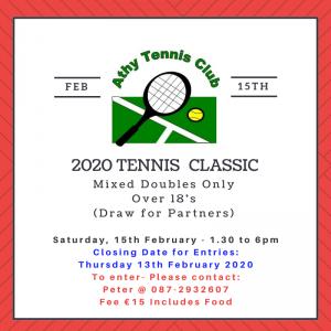 Tennis Classic 2020